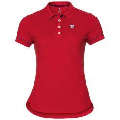 Odlo Koszulka tech. Odlo Polo shirt s/s LISBETH                   - 530101 - 530101/30284/S. Czerwone bralety Odlo, s. Za 147,74 zł.