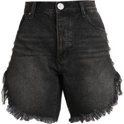 One Teaspoon FRANKIES  Szorty jeansowe black denim. Czarne bermudy damskie One Teaspoon, z bawełny. Za 459,00 zł.