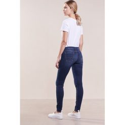 Rurki damskie: 7 for all mankind Jeans Skinny Fit dark indigo