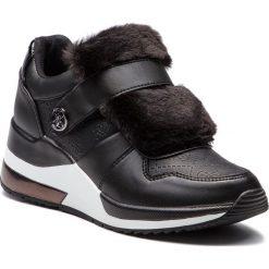 Sneakersy GUESS - FLJIA4 FAL12 BLACK. Czarne sneakersy damskie Guess, z materiału. Za 529,00 zł.