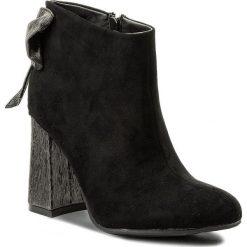 Botki JENNY FAIRY - WSG1160-3 Czarny. Czarne buty zimowe damskie Jenny Fairy, z materiału. Za 119,99 zł.