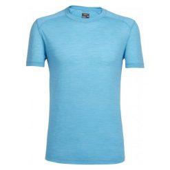 Odzież termoaktywna męska: Icebreaker Koszulka Sportowa Mens Sphere Ss Crewe Capri Hthr Xl