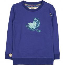 """Bluza """"To Be Alone"""" w kolorze granatowym. Niebieskie bluzy dziewczęce z nadrukiem marki 4FunkyFlavours Kids. W wyprzedaży za 102,95 zł."""