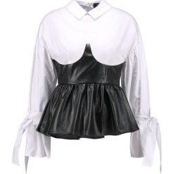 Lost Ink BUSTIER TOP Bluzka mono. Czarne bluzki asymetryczne Lost Ink, z bawełny. W wyprzedaży za 125,30 zł.