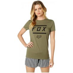 T-shirty damskie: FOX T-Shirt Damski Listless S Khaki
