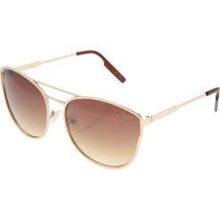 Okulary przeciwsłoneczne damskie: Quay CHERRY BOMB Okulary przeciwsłoneczne gold/silver lens