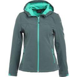Icepeak LUCY Kurtka Softshell green/anthracit. Zielone kurtki damskie Icepeak, z elastanu. W wyprzedaży za 195,30 zł.