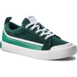 Trampki CALVIN KLEIN JEANS - Dino S1760 Green/White/Green. Zielone trampki męskie marki Calvin Klein Jeans, z gumy. W wyprzedaży za 459,00 zł.