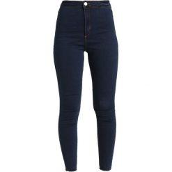 Missguided Petite VICE HIGH WAISTED Jeans Skinny Fit indigo vintage. Niebieskie boyfriendy damskie Missguided Petite, petite. Za 129,00 zł.
