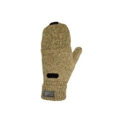 Rękawiczki myśliwskie sibir 100 wełniane. Brązowe rękawiczki damskie marki SOLOGNAC, z wełny. Za 29,99 zł.