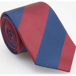 Krawat - Wielobarwn. Różowe krawaty męskie Reserved. Za 49,99 zł.