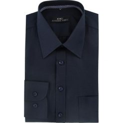 Koszula MARCO 16-04-33-K. Czarne koszule męskie na spinki Giacomo Conti, m, z materiału. Za 149,00 zł.