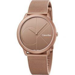 ZEGAREK CALVIN KLEIN MINIMAL K3M11TFK. Niebieskie zegarki męskie Calvin Klein, szklane. Za 1169,00 zł.