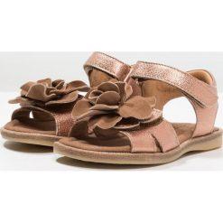 Bisgaard Sandały bronze. Brązowe sandały chłopięce Bisgaard, z materiału. Za 399,00 zł.