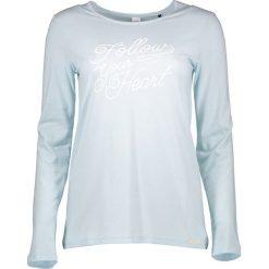 Odzież damska: Koszulka piżamowa w kolorze błękitnym