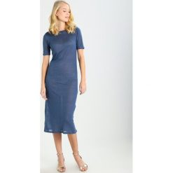 Sukienki dzianinowe: Majestic Sukienka dzianinowa blue jean