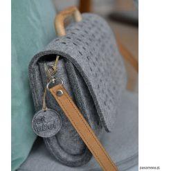 Torebki i plecaki damskie: Mała szara filcowa torebka Felt&Wood limitowana