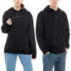 Bluza Vans Overtime Hoodie (VA3PBDBLK). Czarne bluzy męskie marki Vans, z bawełny. Za 219,99 zł.