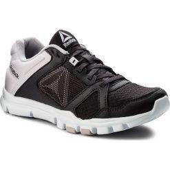 Buty Reebok - Yourflex Trainette 10 Mt CN1250  Smoky Volcano/Quartz/Wht. Szare buty do fitnessu damskie marki Reebok, l, z dzianiny, z okrągłym kołnierzem. W wyprzedaży za 169,00 zł.