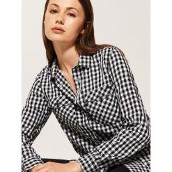 Koszula w kratę - Wielobarwn. Szare koszule męskie marki House, l. Za 59,99 zł.