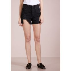 Bermudy damskie: Agolde DEE HIGHRISE Szorty jeansowe black