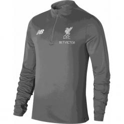 Bluza Liverpool LFC - MT831020CTR. Czerwone bluzy męskie rozpinane marki New Balance, na jesień, m, z materiału. Za 299,99 zł.