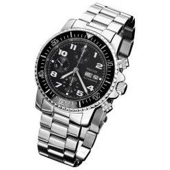 ZEGAREK EPOS Sportive 3365.228.20.35.30. Czarne zegarki męskie EPOS, ze stali. Za 9700,00 zł.