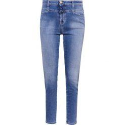 Rurki damskie: CLOSED SKINNY PUSHER Jeansy Slim fit easy blue