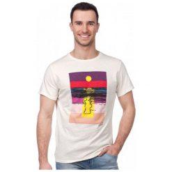 Pepe Jeans T-Shirt Męski Sunset Xl Kremowy. Niebieskie t-shirty męskie marki Oakley, na lato, z bawełny, eleganckie. W wyprzedaży za 119,00 zł.