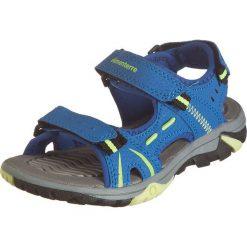 """Sandały trekkingowe """"Kethel"""" w kolorze niebieskim. Niebieskie buty trekkingowe chłopięce marki Elementerre. W wyprzedaży za 69,95 zł."""