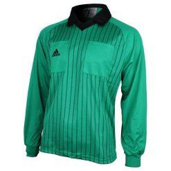 Bejsbolówki męskie: Adidas Bluza sędziowska męska zielona r. M  (626726)