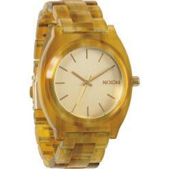 Zegarki damskie: Zegarek damski Champagne Gold Amber Nixon Time Teller Acetate A3271423