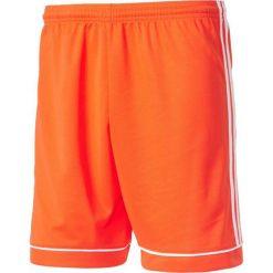 Spodenki i szorty męskie: Adidas Spodenki męskie Squadra 17 pomarańczowo-białe r. M (BJ9229)