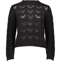 Sweter w kolorze czarnym. Czarne swetry klasyczne damskie Gottardi, s, ze splotem. W wyprzedaży za 173,95 zł.