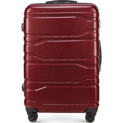 Walizka duża 56-3P-983-30. Czerwone walizki marki Wittchen, z gumy, duże. Za 299,00 zł.