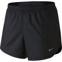 Spodenki sportowe męskie: Nike Spodenki damskie Modern Embossed Tempo Short Nike czarne  r. XL (645561010)
