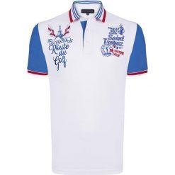 """Koszulki polo: Koszulka polo """"Pure"""" w kolorze białym"""