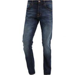 Spodnie męskie: Nudie Jeans GRIM TIM Jeansy Slim Fit dark deep worn