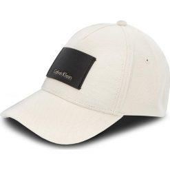 Czapka z daszkiem CALVIN KLEIN - Pique' Baseball Cap K50K503669 000. Brązowe czapki z daszkiem męskie marki Calvin Klein, z bawełny. Za 179,00 zł.