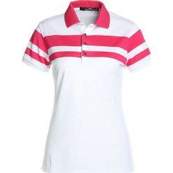 Polo Ralph Lauren Golf TECH  Koszulka sportowa pure white/red ra. Białe bluzki sportowe damskie Polo Ralph Lauren Golf, xs, z elastanu. W wyprzedaży za 356,15 zł.