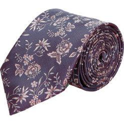 Krawaty męskie: krawat platinum fiolet classic 214