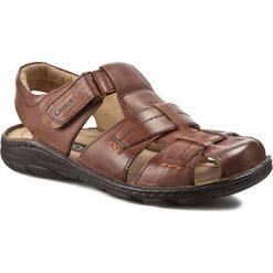 Sandały męskie: Sandały CESARE CAVE – MI18-ROUTER-02 Brązowy