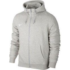Bejsbolówki męskie: Nike Bluza męska Team Club FZ Hoody szara r. S (658497 050)