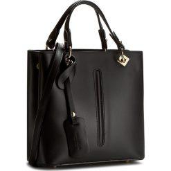 Torebka CREOLE - K10298  Czarny. Czarne torebki klasyczne damskie Creole, ze skóry. W wyprzedaży za 229,00 zł.