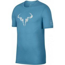 Nike Męska Koszulka Sportowa Rafa M Nk Dry Tee Crew Lagoon Pulse White M. Białe koszulki do fitnessu męskie Nike, m. Za 155,00 zł.