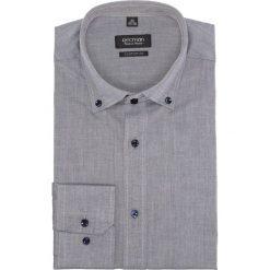 Koszula bexley 2443 długi rękaw custom fit granatowy. Szare koszule męskie marki Recman, na lato, l, w kratkę, button down, z krótkim rękawem. Za 139,00 zł.