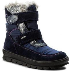Kozaki dziewczęce: Śniegowce SUPERFIT – GORE-TEX 1-00214-81 S Ocean Kombi