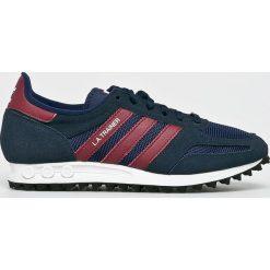 Adidas Originals - Buty La Trainer. Szare halówki męskie adidas Originals, z gumy, na sznurówki. W wyprzedaży za 399,90 zł.