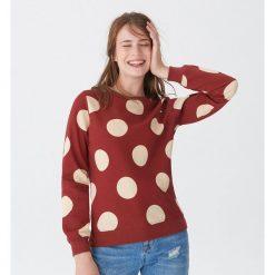 Bluza w grochy - Czerwony. Czerwone bluzy damskie House, l, w grochy. Za 69,99 zł.