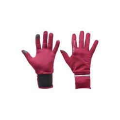 RĘKAWICZKI EVOLUTIV. Fioletowe rękawiczki damskie marki KALENJI. W wyprzedaży za 24,99 zł.